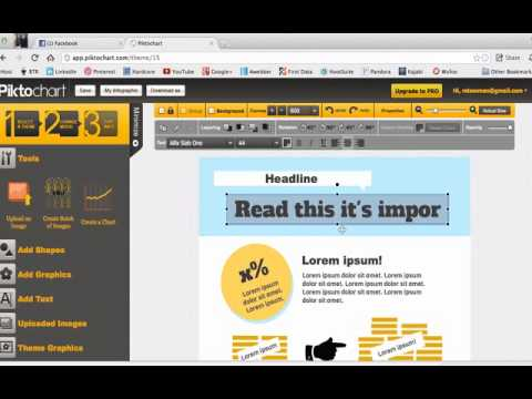 The easiest way to make an infographic