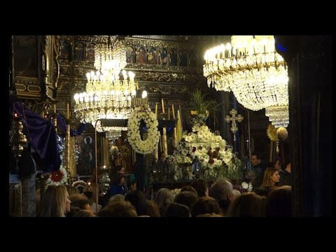 Participating in a Somber Greek Orthodox Good Friday