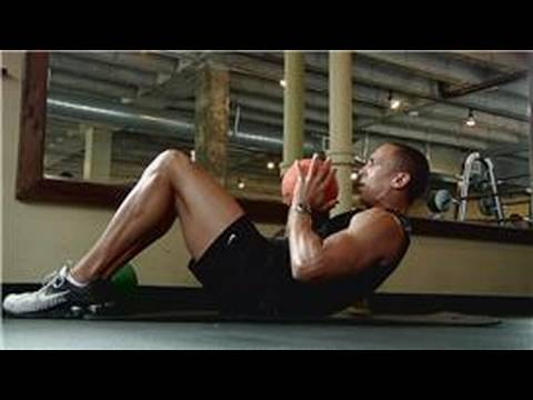 Exercise Tips & Equipment : How To Use A Medicine Ball For Sit-Ups