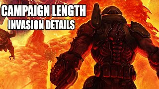 New Doom Eternal Campaign And Invasion Mode Details