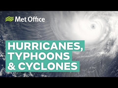 What is the difference between hurricanes, typhoons and cycl