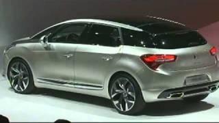 Citroën DS5 : Première mondiale