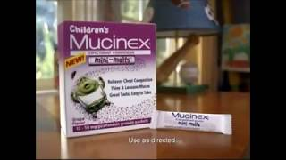 Mucinex Parody Mr Mucus and Mucus son mini melt parody