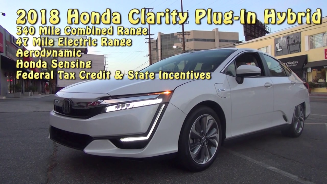 How Much Fun Is Honda S New Clarity Plug In Hybrid