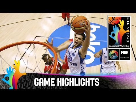 Greece v Croatia - Game Highlights - Group B - 2014 FIBA Basketball World Cup