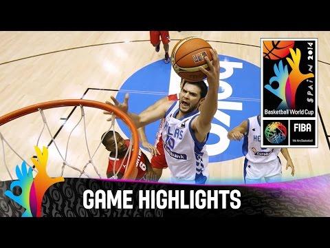 Greece v Croatia - Game Highlights - Group B - 2014 FIBA Basketball World Cup