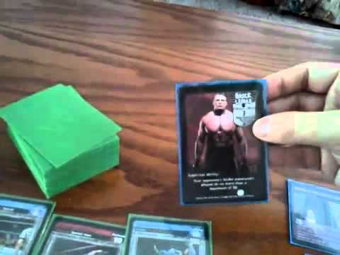 WWE Raw Deal Card Game Tutorial Part 1 - The Basics