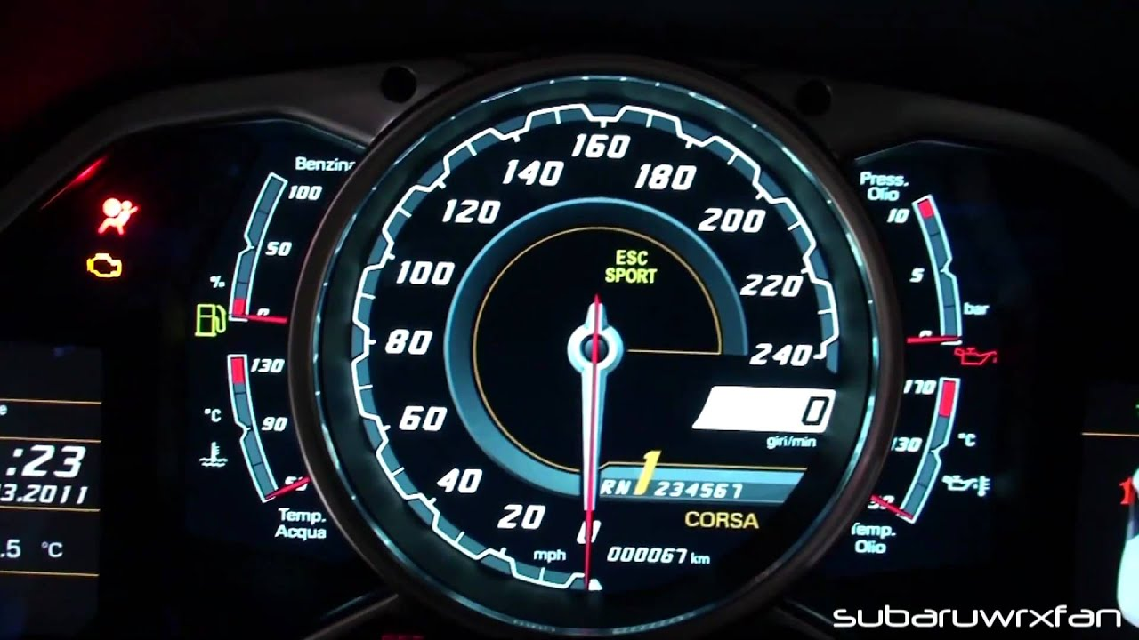 lamborghini veneno speedometer. exclusive aventador interior features gauges engine start button and open doors youtube lamborghini veneno speedometer