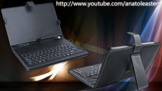 Чохол-клавіатура для семидюймовим планшетів