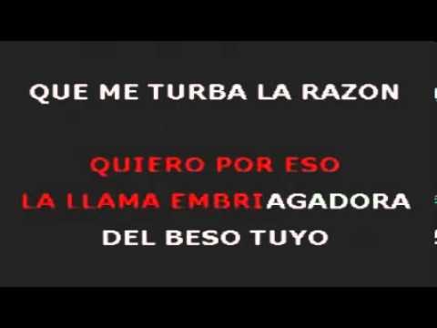 Blanca Rosa Gil   Besos De Fuego   Karaoke   Walsa