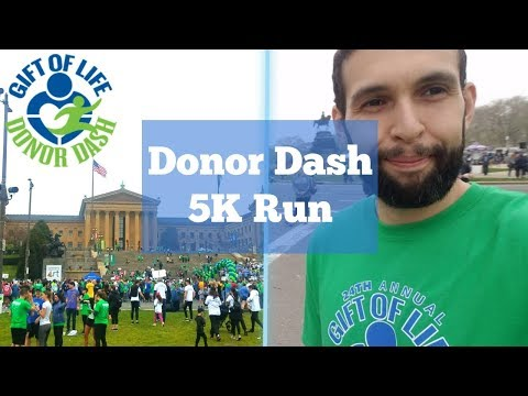 Gift Of Life - Donor Dash 2019 5K | Philly Vlog