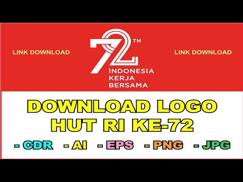 Download Logo Hut Ri Ke 72 Format Cdr Ai Eps Png Jpg Youtube