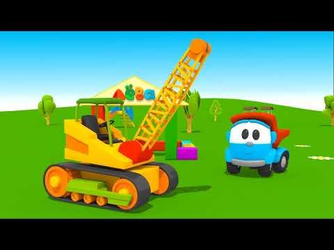 Грузовичок Лева все серии про машинки - Мультики для детей