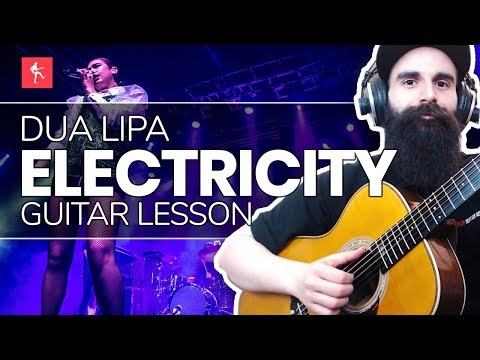 🎸Electricity Guitar Lesson - How To Play Electricity by Dua Lipa