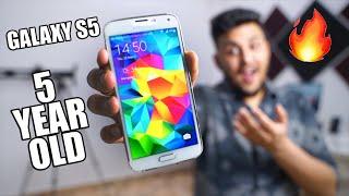 SAMSUNG GALAXY S5 vs A50 - Technology Kitni Change Ho Gayi!   CRAZY!