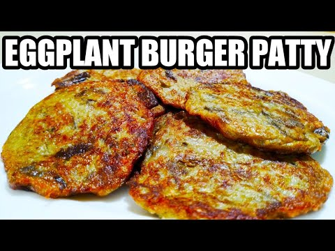 HOW TO COOK EGGPLANT PATTY | BEST VEGETABLE PATTY RECIPE
