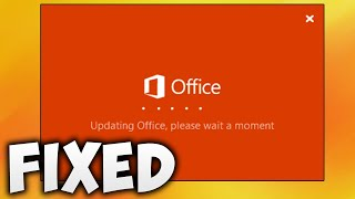 How To Fix Microsoft Office Updating Office Please Wait A Moment Error