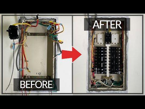 免打牆也能做!!! 更換標準式匯流排開關箱 漏電斷路器千萬別這樣用 DIY實作 【宅水電】