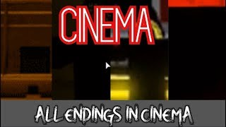 ROBLOX Cinema All Endings (2019 Septembre)