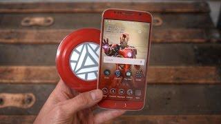 DIY $25 Galaxy S6 Iron Man Edition!