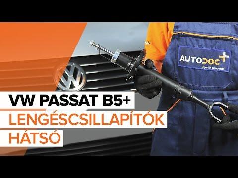 VW PASSAT B5+ Első lengéscsillapítók csere [ÚTMUTATÓ] letöltés