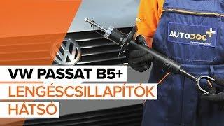 VW PASSAT Variant (3B5) első és hátsó Lengéscsillapító szerelési: ingyenes videó
