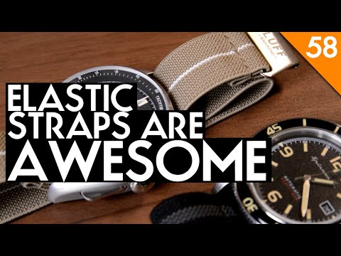 Luff Elastico G2 Elastic (Marine Nationale MN Style) Strap Review