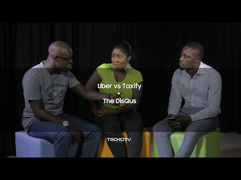 Uber vs Taxify: TechCity DisQus