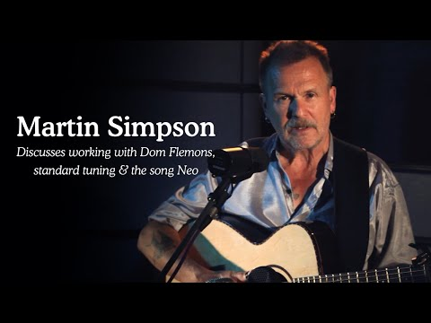 Martin Simpson discusses Dom Flemons, standard tuning and the song Neo (Silk Mill Session 2019) Mp3
