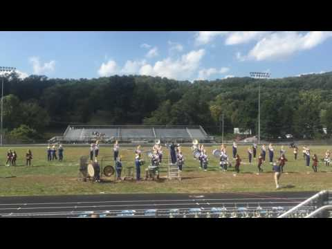 "Shady spring high school band ""Pirates of the Caribbean"" show 2016 part 1"