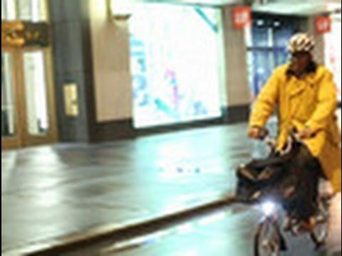 Al Roker Bikes to Work
