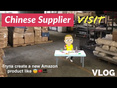 VISITING OUR FACTORY in CHINA 🇨🇳 Canton Fair 2017 for Amazon FBA + Guangzhou Travel Review