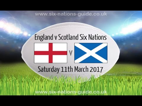 ENGLAND VS SCOTLAND - Rugby 6 Nations 2017