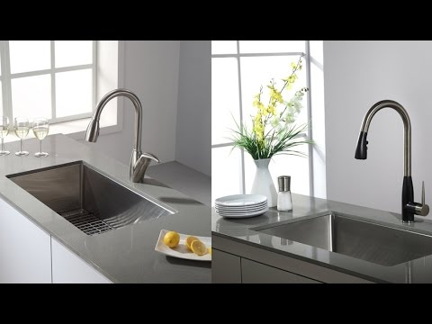 Kraus Undermount Single Bowl Stainless Steel Kitchen Sink With 16 Gauge  Steel For Added Durability