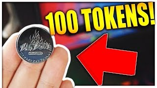 THIS COIN IS WORTH 100 ARCADE TOKENS! || Arcade Games