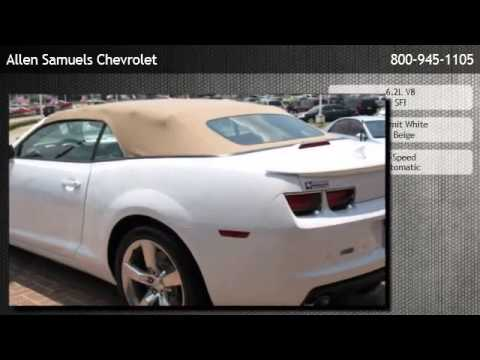 2011 Chevrolet Camaro Convertible 2SS   Houston