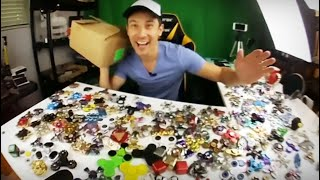 🤗  Massive Box of Fidget Spinner Unboxing! + 3 Giveaway Winners Announced!