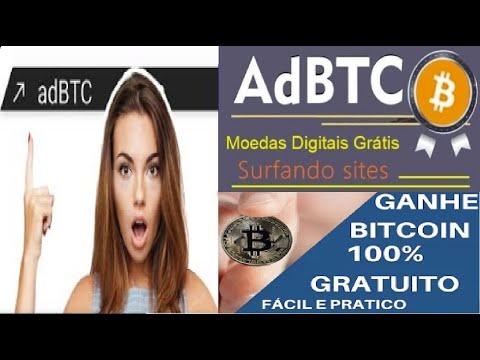 [ Faucet AdBtc ] Como ganhar Satoshi de bitcoin Grátis | Earn Btc by viewing ads Free | Renda Extra