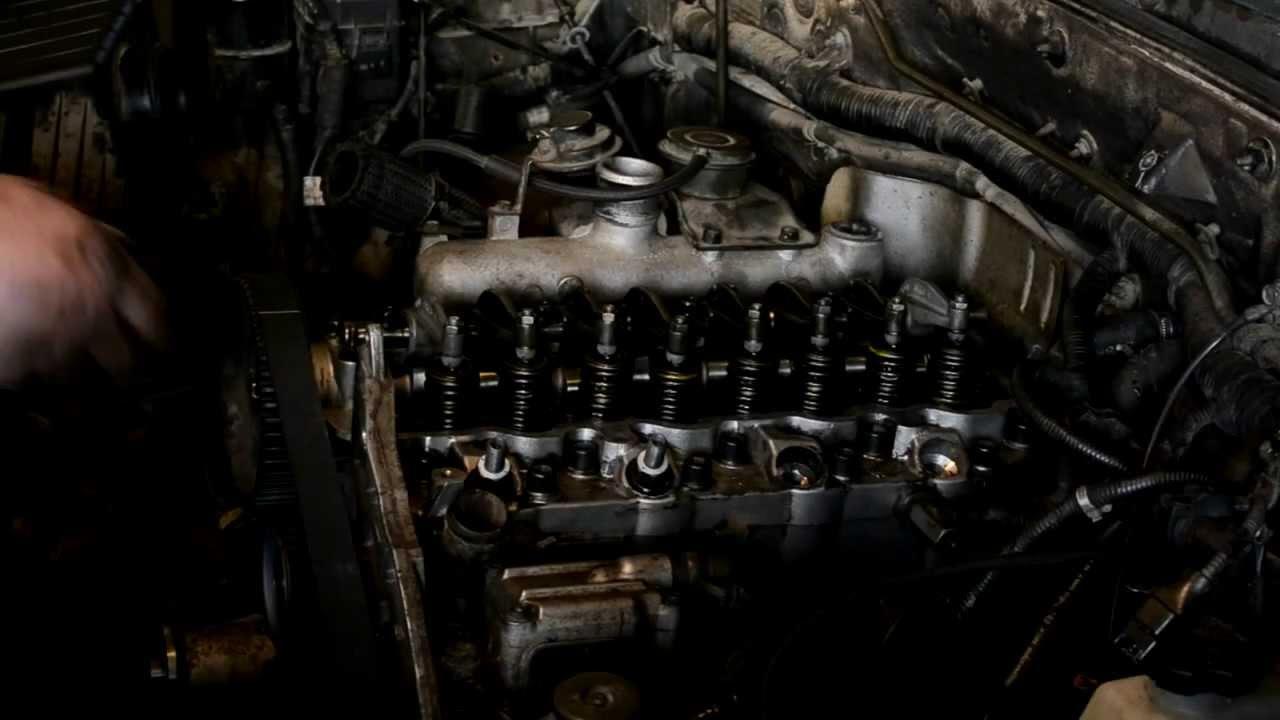 Установка форсунок и свеч накала на двигатель Mitsubishi 2,5 TD