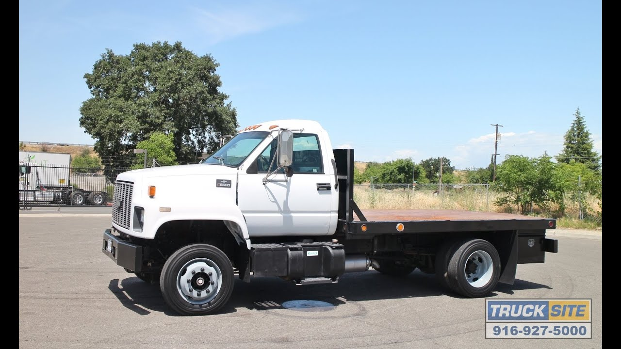 All Chevy chevy c6500 flatbed : 1997 Chevrolet TopKick C6500 12' Flatbed Truck for sale by Truck ...
