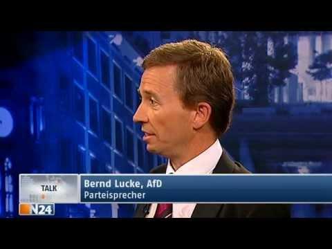 Studio Friedman: Bernd Lucke AfD - Deutschland braucht den Euro nicht (Ganze Sendung vom 20.06.2013)