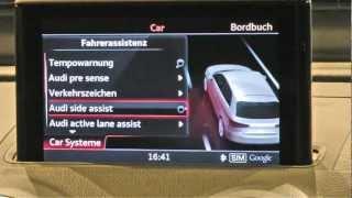 Audi A3 (2012) Im Test: Mmi Navigation Plus Und Audi Connect