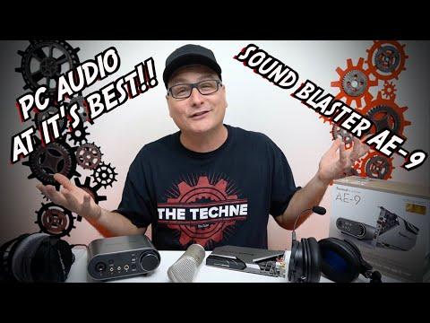 AMAZING PC AUDIO SET UP! Sound Blaster AE-9 Review