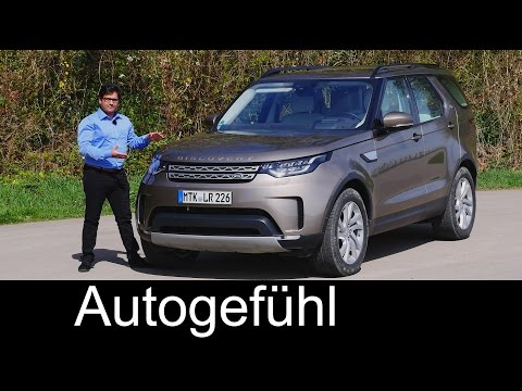 Land Rover Discovery 5 FULL REVIEW test driven all-new neu Disco 2018/2017 - Autogefühl
