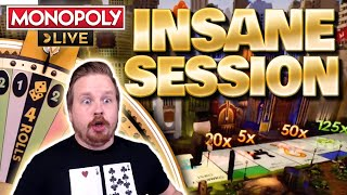 Monopoly Live Double 4 Rolls and 8x 2 Rolls Big Win Session