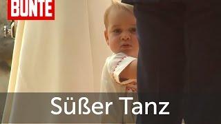 Prinz George: Mega süße Tanzeinlage! - BUNTE TV