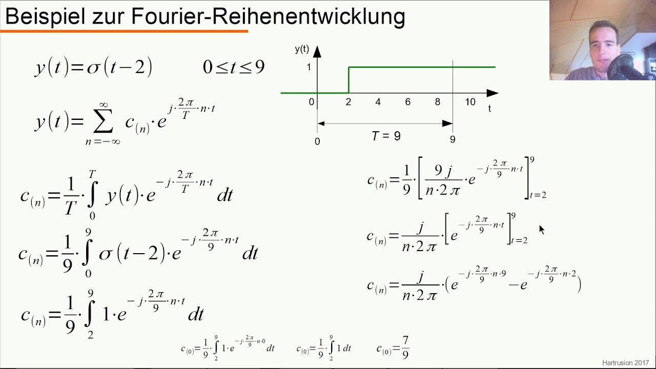 Dynamische Systeme Teil 8 1 Komplexe Fourier Reihenentwicklung Youtube