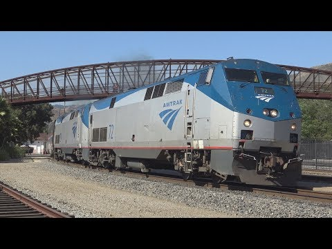 Railfanning San Luis Obispo - 7/2/17