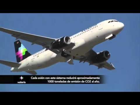 Volaris estrena avión y tecnología - YouTube