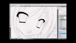 Pentool Lineart In Photoshop